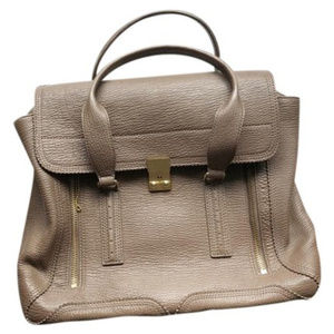 3.1 Phillip Lim Pashli Taupe Leather Satchel